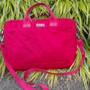 Tumi nylon crossbody laptop bag